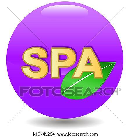 手绘图 - 新, spa, 图标
