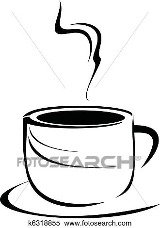 clipart coffee cup fotosearch search clip art illustration murals drawings and