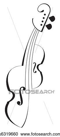 刺花样, 小提琴图片