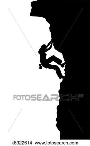 Clipart Escalade K6322614 Recherchez Des Clip Arts