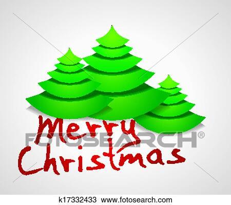 手绘图 - 圣诞节, 贺卡