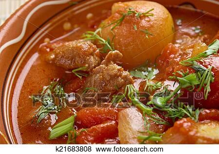 Мясо гречески рецепт с фото