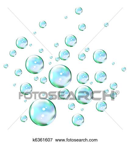 Stock Illustration of Soap bubbles k6361607 - Search EPS Clipart ...