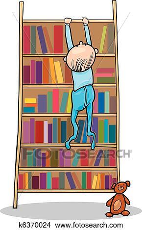 Bücherregal clipart schwarz weiß  Bücherregal Clipart | ambiznes.com