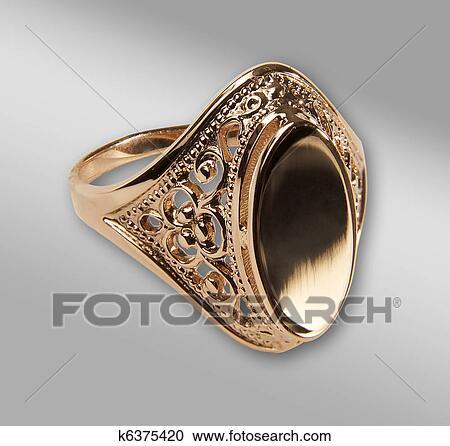 Золотые кольца печатки женские с