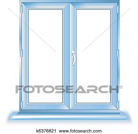 Fenster schließen clipart  Clipart - plastik, fenster k6376821 - Suche Clip Art, Illustration ...