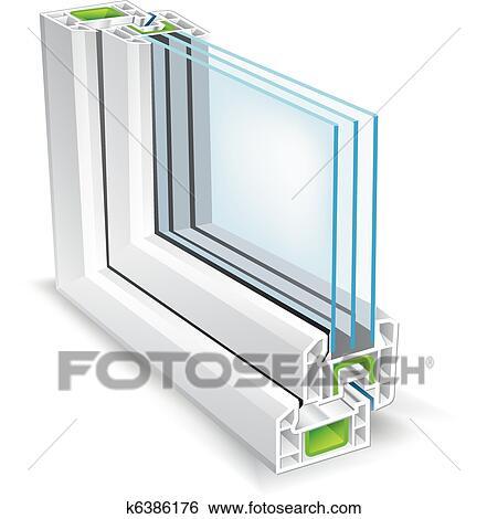 Fenster schließen clipart  Clip Art - fenster, profil k6386176 - Suche Clipart, Poster ...