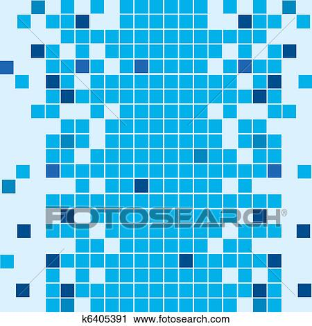 Bathroom Tiles Background clipart of seamless bathroom mosaic tiled background k6405391