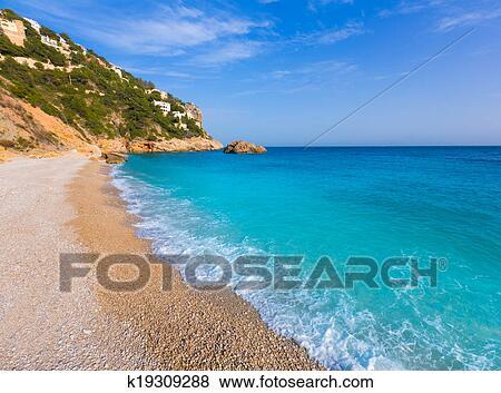 Пляж в аликанте на карте