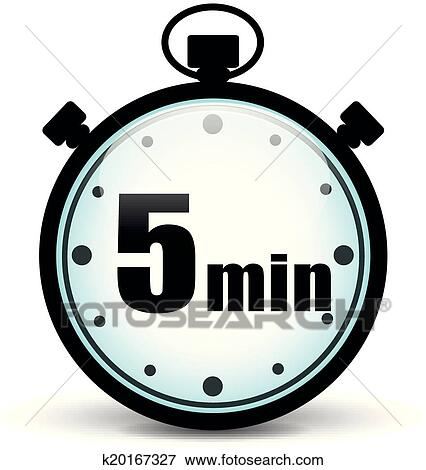 Clip art of five minutes stopwatch k20167327 search clipart clip art five minutes stopwatch fotosearch search clipart illustration posters drawings publicscrutiny Image collections
