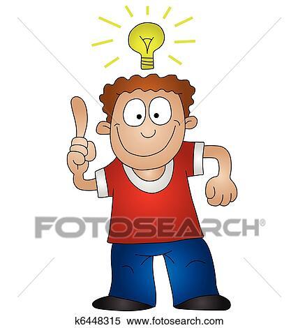 Clip Art Idea Clip Art clip art of bright idea insight k16290739 search clipart idea