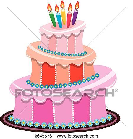 Скачать торты до дня рождения для фотошопа