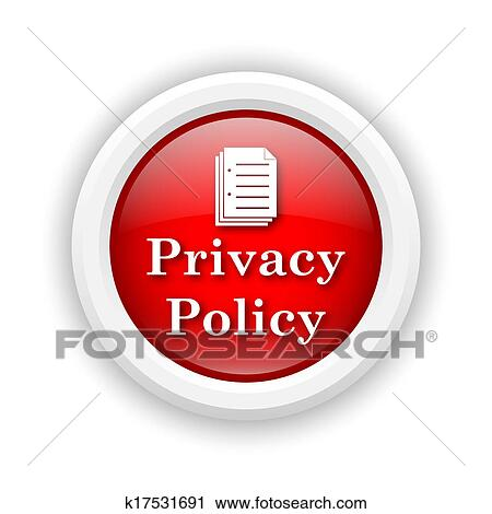 clipart of privacy policy icon k17531691