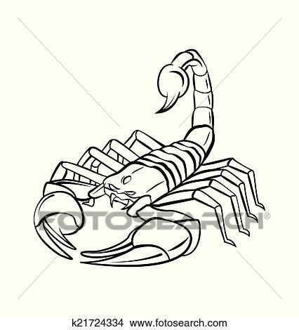 蝎子, 战士,