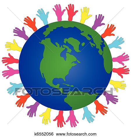 clip art of global issues of the world k6552056 search clipart rh fotosearch com globe clipart globe clipart free
