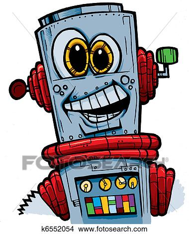 绘画/图画 - 开心, 机器人 k6552054 - 搜寻 clip art