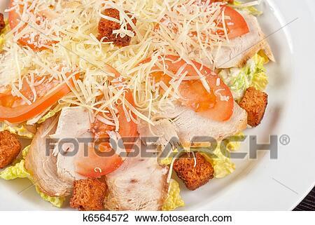 фоторецепт салата из куриного мяса