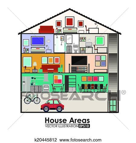 Clipart casa disegno k20445812 cerca clipart for Casa disegno