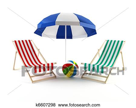 Umbrella Chair Clip Chairs Under an Umbrella