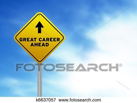 职业路标_图片巨大职业前面路标k6637057搜索影