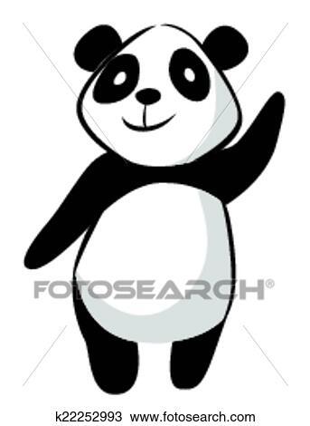 剪贴画-睡觉,熊猫,卡通漫画ょ井漫画桜うり图片
