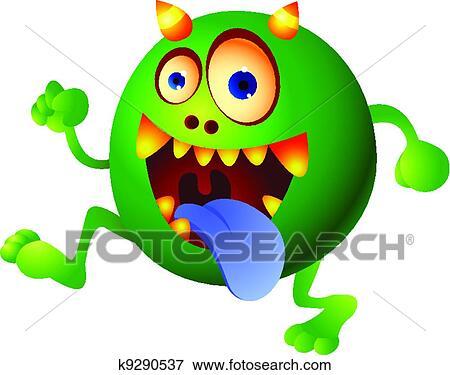 - 绿色的怪物