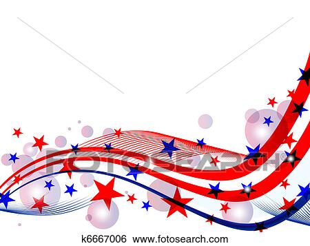 clip art of 4th july independence day k6667006 search clipart rh fotosearch com independence day clipart india independence day clipart free
