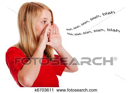 Speaking Mouth Clipart