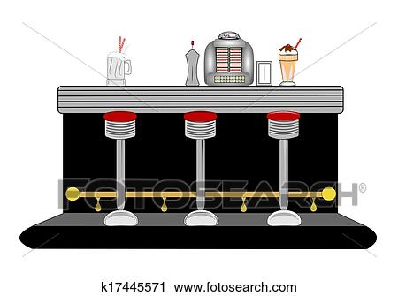 clipart of diner counter k17445571 search clip art illustration rh fotosearch com dinner clip art images dinner clip art pictures