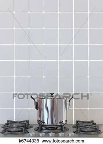 Beelden keuken pot op gasfornuis het koken achtergrond k6744338 zoek stock foto 39 s for Beeldkoken