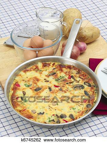Spanish Tortilla Clipart
