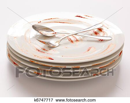 Dirty Plate Clipart