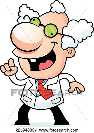 clip art of cartoon mad scientist idea k25948337 search clipart rh fotosearch com mad scientist clip art free mad scientist clip art cartoon