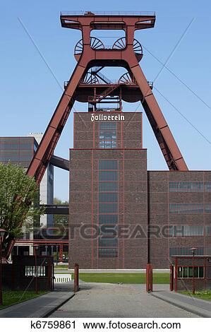 stock photography of zollverein in essen germany k6759861 search stock photos pictures. Black Bedroom Furniture Sets. Home Design Ideas