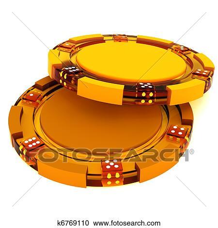 Poker chips clipart