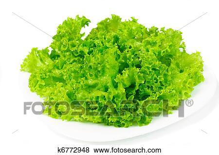 Images feuilles salade verte k6772948 recherchez des photos des images des photographies - Salade verte calorie ...