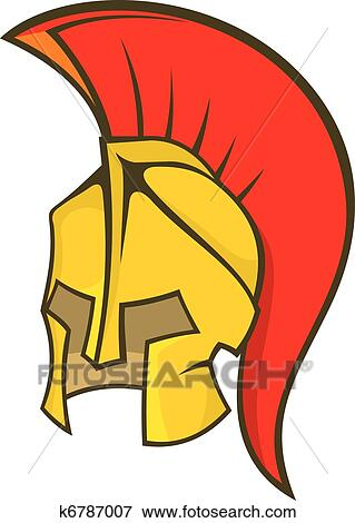 clip art of ancient soldier helmet k6787007 search clipart rh fotosearch com soldier clipart images soldier clip art free