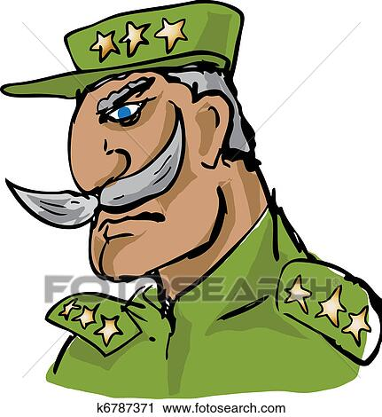 clipart of old military officer hand drawn k6787371 search clip rh fotosearch com military clip art free images military clip art free images