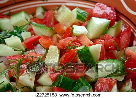 Мункачини арабский салат фото
