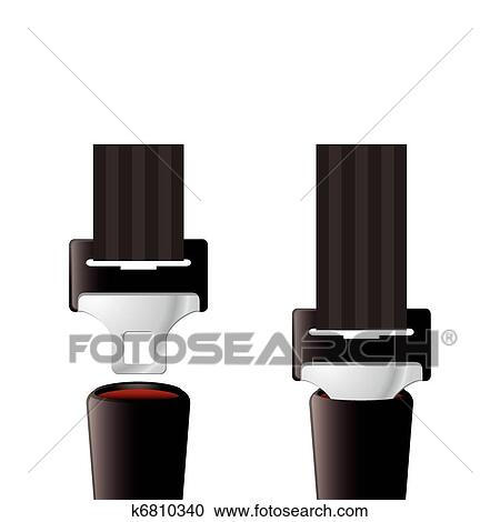 clipart s curit ceinture de s curit k6810340 recherchez des clip arts des illustrations. Black Bedroom Furniture Sets. Home Design Ideas