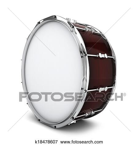 Stock Illustration of Bass drum k18478607 - Search EPS ...