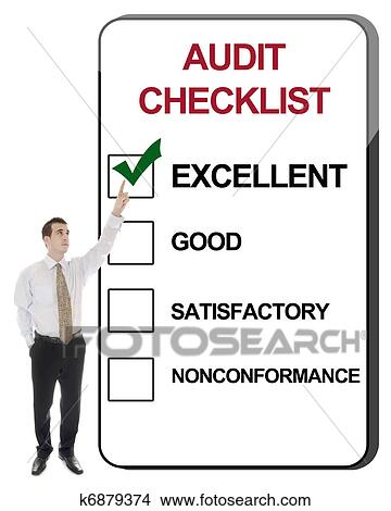Stock Photo of Audit Checklist k6879374 - Search Stock ...