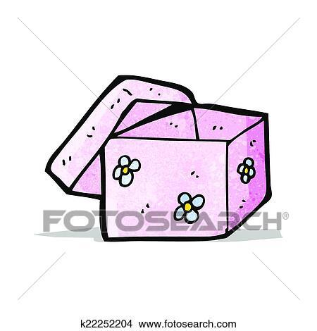 卡通漫画, 礼物盒子