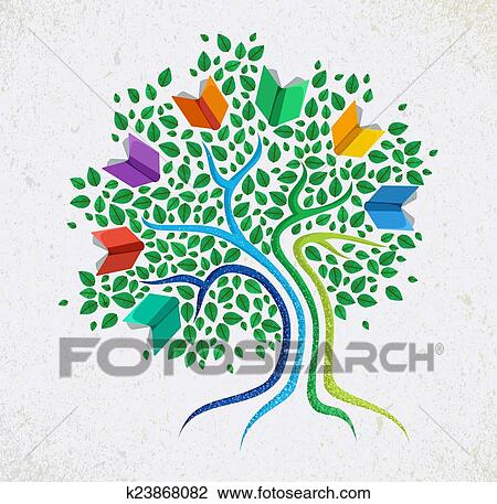 Easy Abstract Tree Drawings Clipart Education Abstract