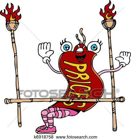 clip art of limbo dance price tag k6918758 search clipart rh fotosearch com limbo game clipart