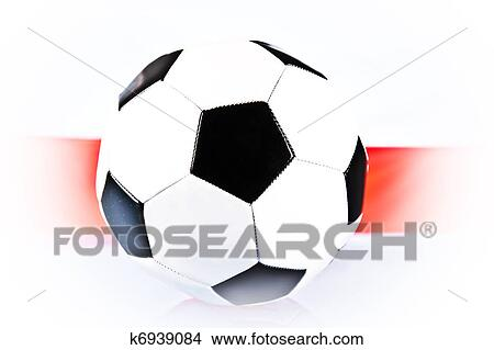 手绘图 - 擦亮标记, 同时,, 足球.图片
