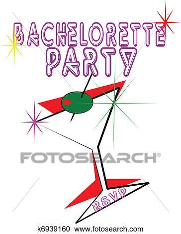 Bachelorette party Clipart Illustrations. 263 bachelorette party ...