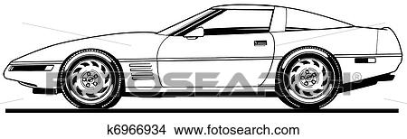 Car Side View Clip Art