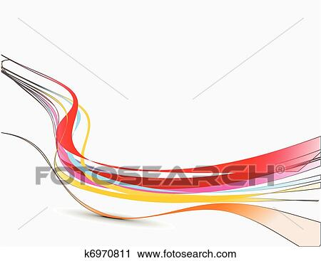 Wave Line Clipart Clipart Abstract Wave Line