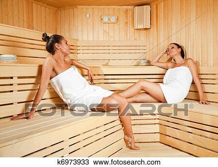 баня фото девушки